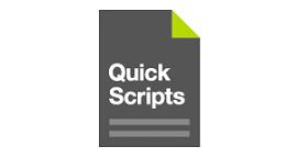 Quick Scripts